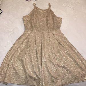 Soprano Gold Dress (Size Medium)